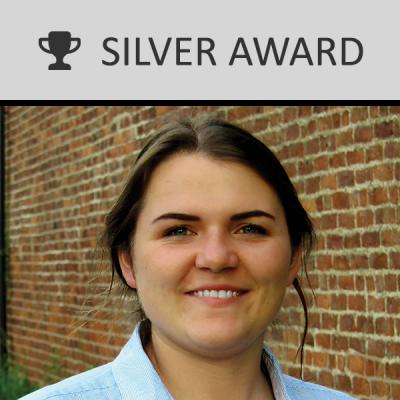 2017 silver Georgina Gater-Moore