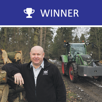 2017 winner Andrew Francis