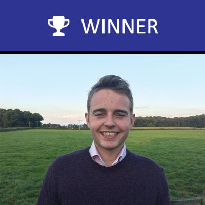 2017 winner Ben Theaker