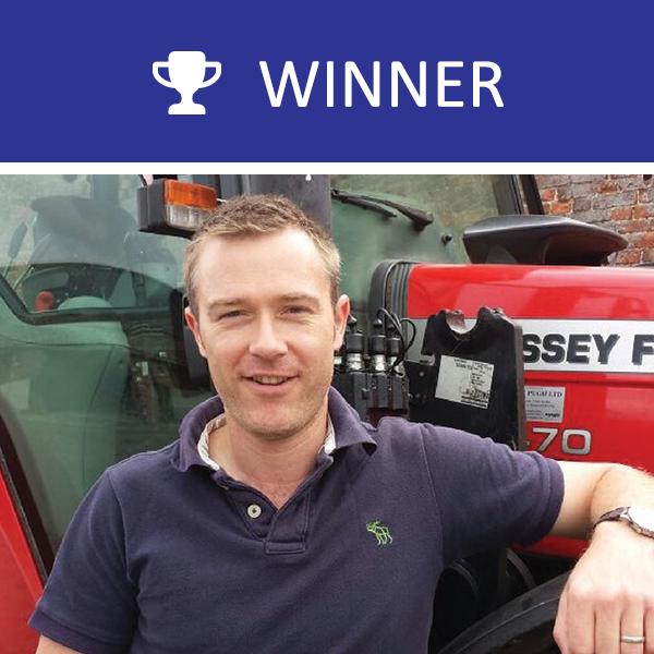 2017 winner Will Evans